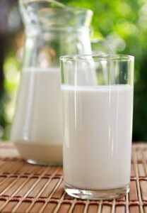 Milk for glowing skin